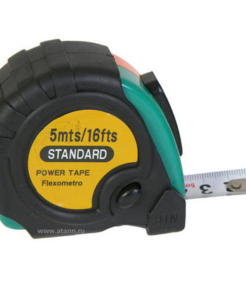Рулетка Standart power tape 5 м